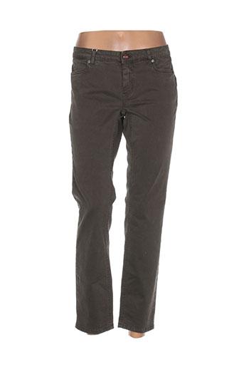 i blues pantalons femme de couleur gris