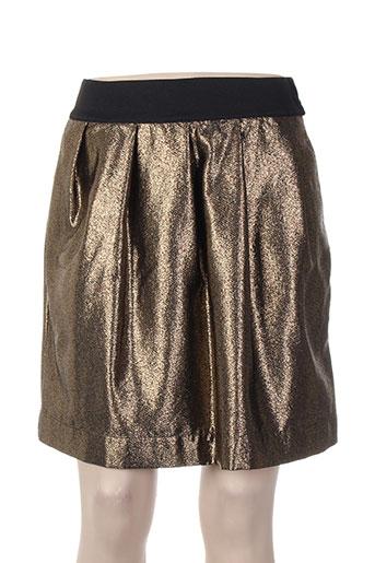 essentiel antwerp jupes femme de couleur marron