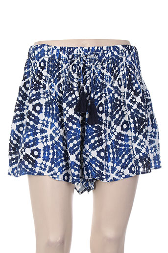 seafolly shorts / bermudas femme de couleur bleu