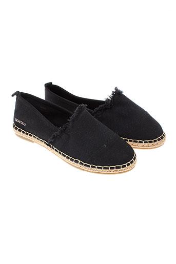 seafolly chaussures femme de couleur noir