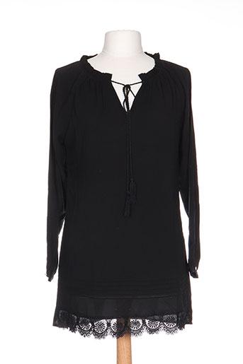 exquiss's tuniques femme de couleur noir