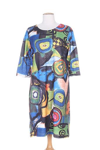 for her paris robes femme de couleur bleu
