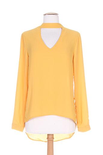 kilky chemises femme de couleur orange