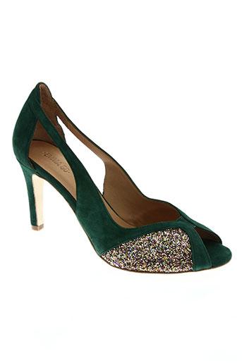 emma.go chaussures femme de couleur vert