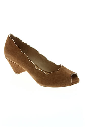 anonymous chaussures femme de couleur marron