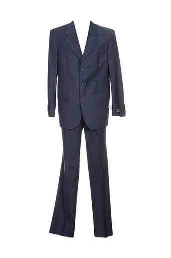 marzotto ensemble homme de couleur bleu