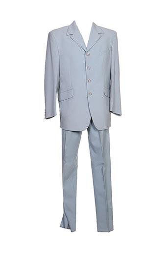 alexandre dony costumes homme de couleur bleu
