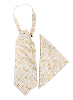 Cravate beige ALEXANDRE DONY pour homme