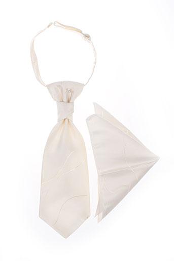 Cravate blanc VIRTUOSE pour homme