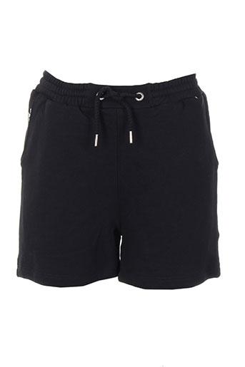 chillaround shorts / bermudas fille de couleur noir
