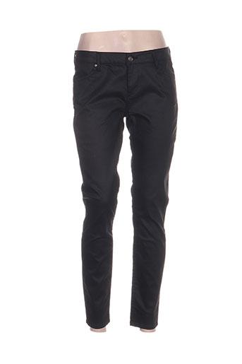 pablo gerard darel pantalons femme de couleur noir