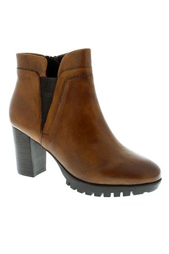 spm chaussures femme de couleur marron