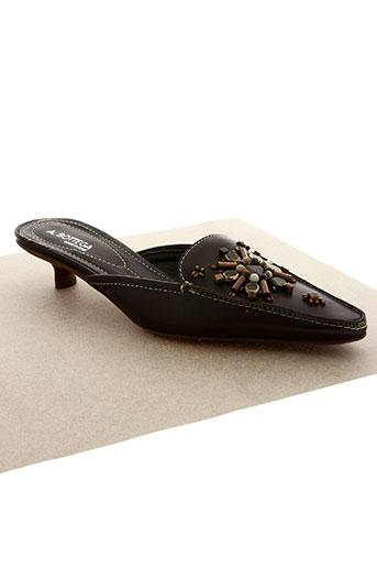 antica bottega chaussures femme de couleur marron
