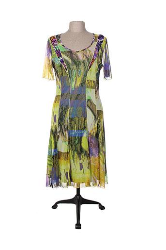 evalinka robes femme de couleur vert