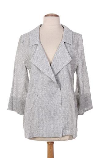 alembika vestes femme de couleur gris
