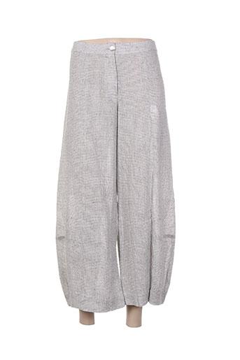 alembika pantacourts femme de couleur gris