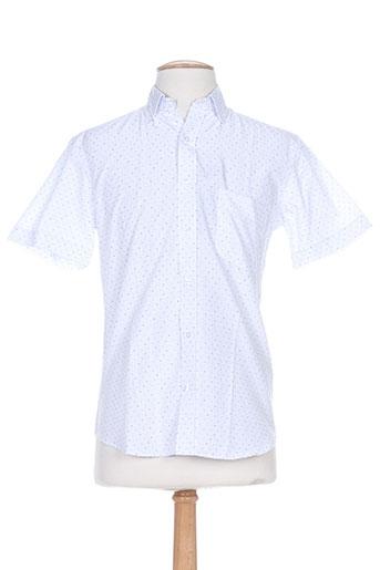 impact chemises homme de couleur bleu