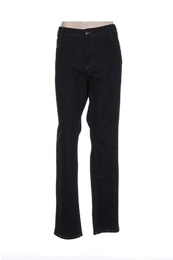 new man jeans femme de couleur noir