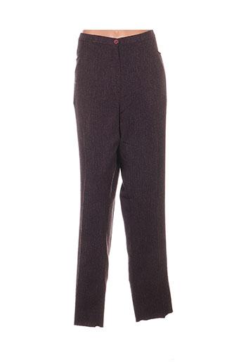 griffon pantalons femme de couleur rose