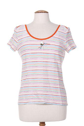 lo! les filles t-shirts femme de couleur orange