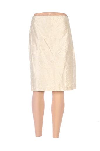 nathalie chaize jupes femme de couleur beige