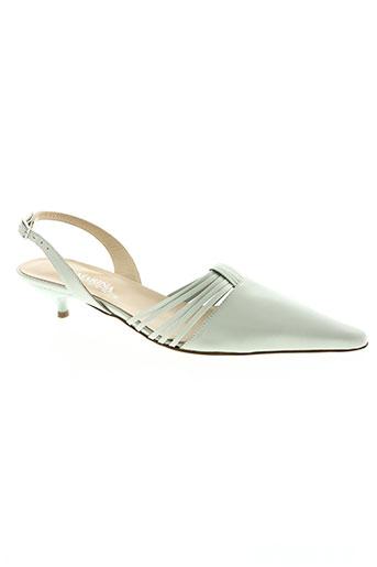san marina chaussures femme de couleur vert