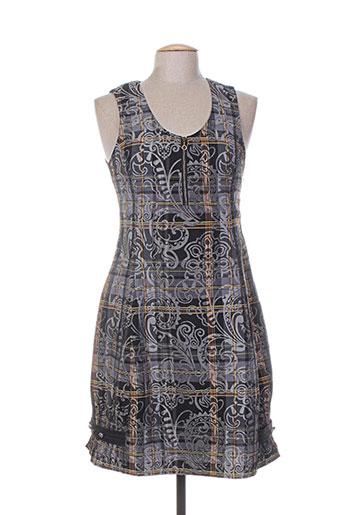 coco menthe robes femme de couleur gris