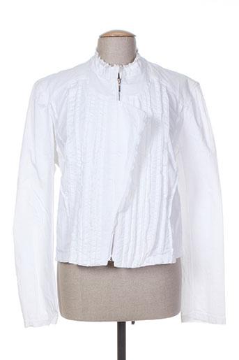 Veste casual blanc FILLE DES SABLES pour femme