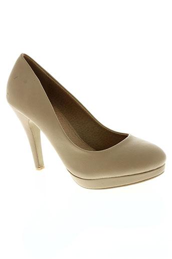 clowse chaussures femme de couleur beige