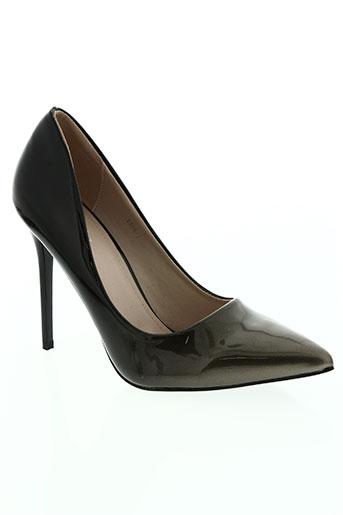 wilady chaussures femme de couleur marron