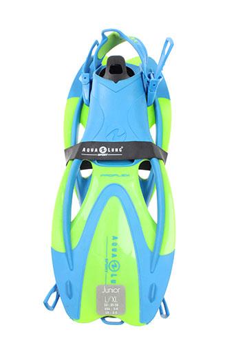 aqua lung chaussures enfant de couleur bleu
