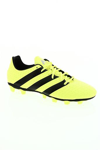 adidas chaussures homme de couleur jaune