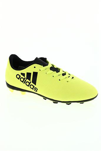 adidas chaussures garçon de couleur jaune