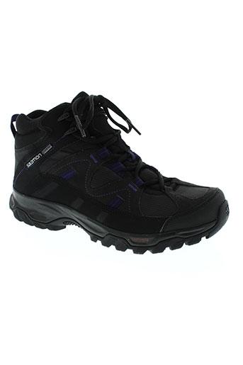 salomon chaussures femme de couleur noir