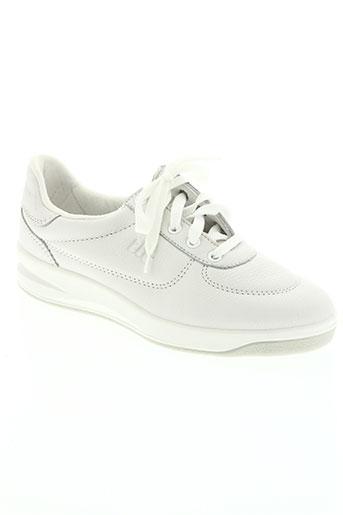 easy walk78 chaussures femme de couleur blanc