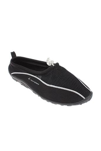 aqua sphere chaussures homme de couleur noir