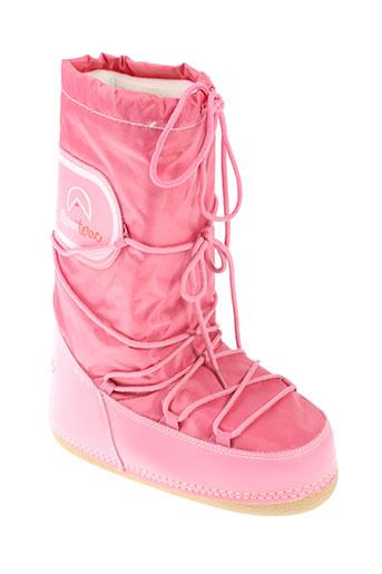 elementerre chaussures femme de couleur rose