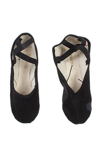 repetto chaussures femme de couleur noir