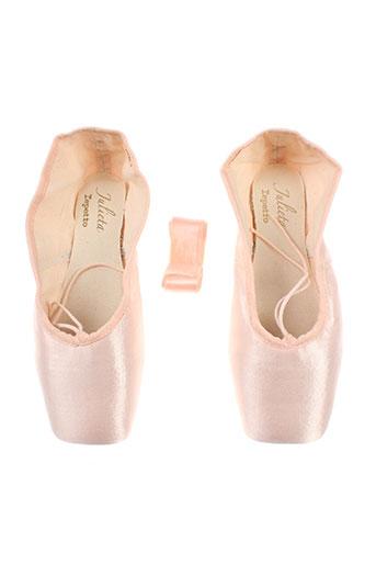 repetto chaussures femme de couleur rose