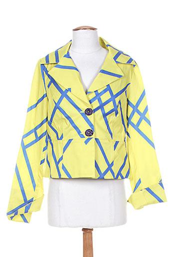 Veste casual bleu CAMELOT pour femme
