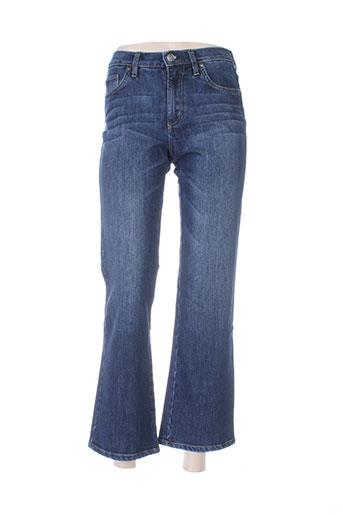 big star jeans femme de couleur bleu