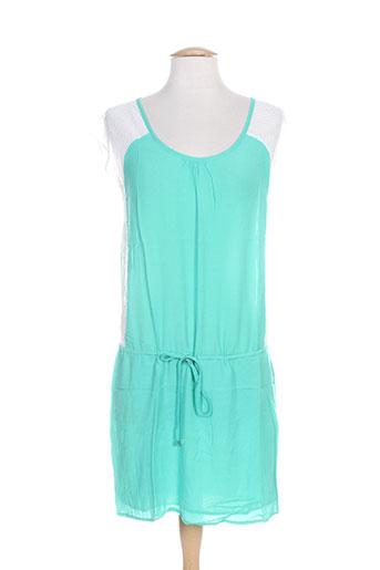 carminn robes femme de couleur vert