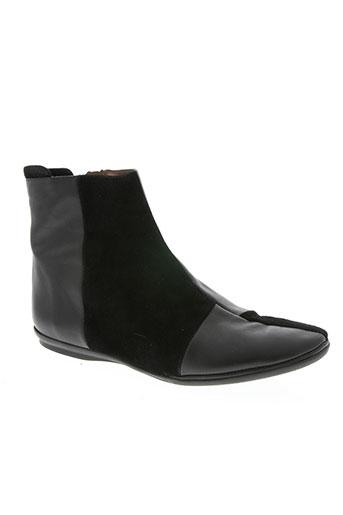 yves desfarge chaussures femme de couleur noir