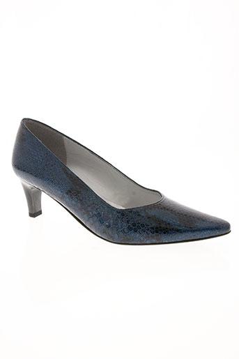 azuree chaussures femme de couleur bleu