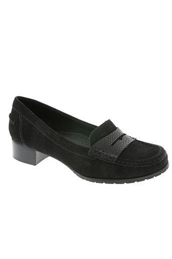 wirth chaussures femme de couleur noir