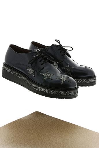muratti chaussures femme de couleur bleu
