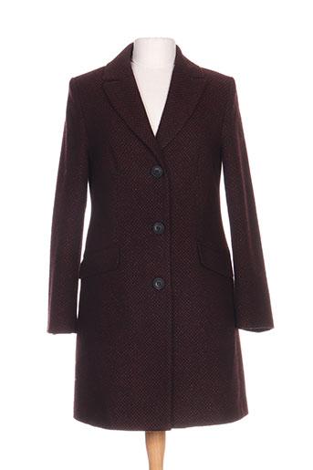 voodoo manteaux femme de couleur rouge