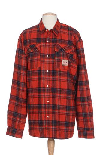 regatta chemises homme de couleur rouge