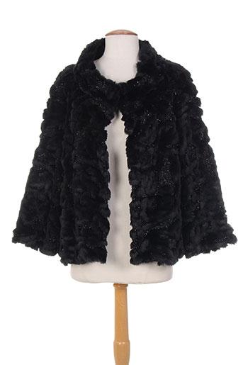 nana nucci manteaux femme de couleur noir