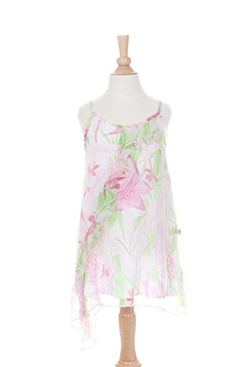 jean bourget robes fille de couleur rose